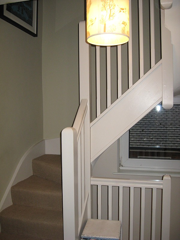 A Softwood Double Turn Winder Staircase Of Typical Layout For 2nd Floor Loft Conversion