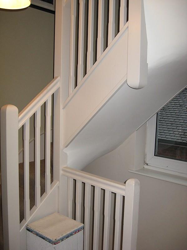 loft conversion ideas victorian terrace - Santer Joinery Staircase Fitzjohns Road Xtendit