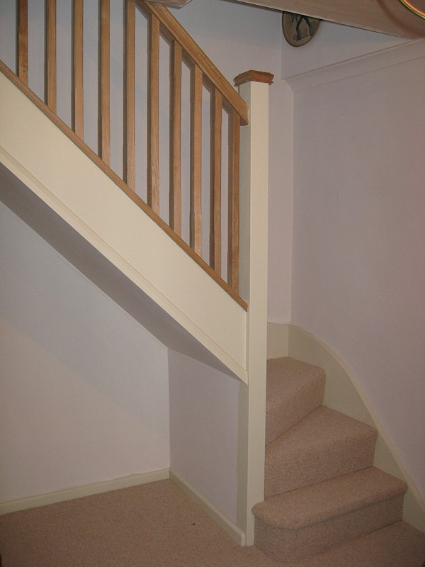 loft conversion ideas uk - Santer Joinery Staircase Tower Cottage Countryside