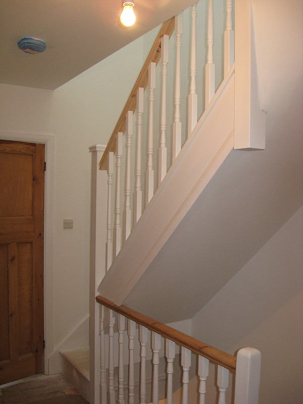 Santer Joinery Staircase Down Terrace Brighton