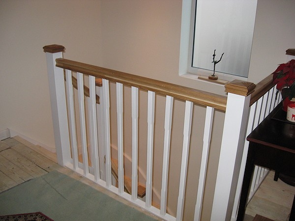 A Double Turn Six Winder Staircase Leading Down Into A Basement.
