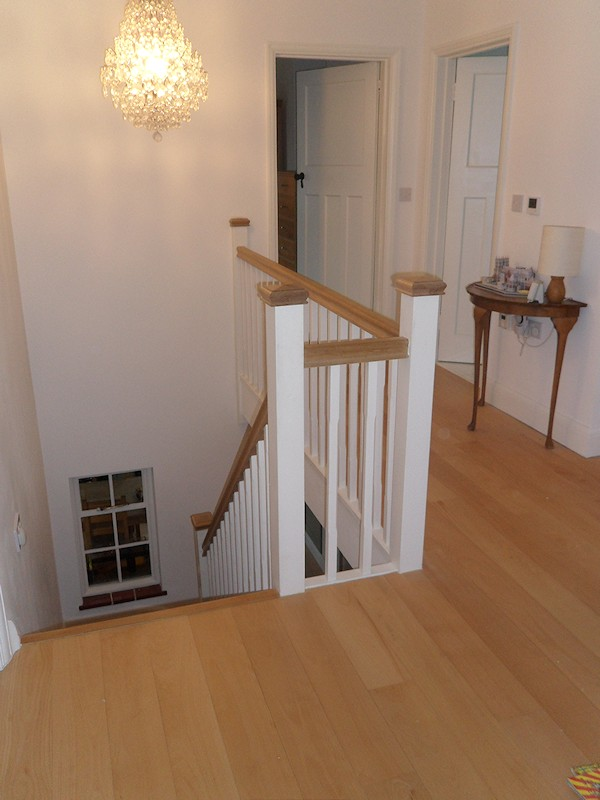 Santer Joinery - Staircase - Blackwell, Dec 2011