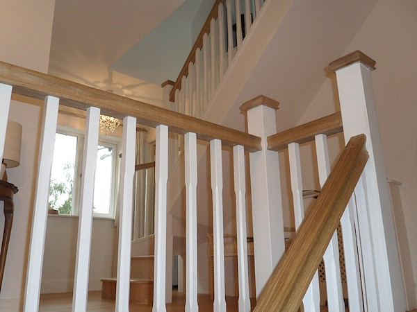 Santer Joinery Staircase Blackwell Dec 2011