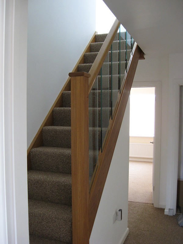 Santer joinery staircase mill hill close jasper for Building winder stairs