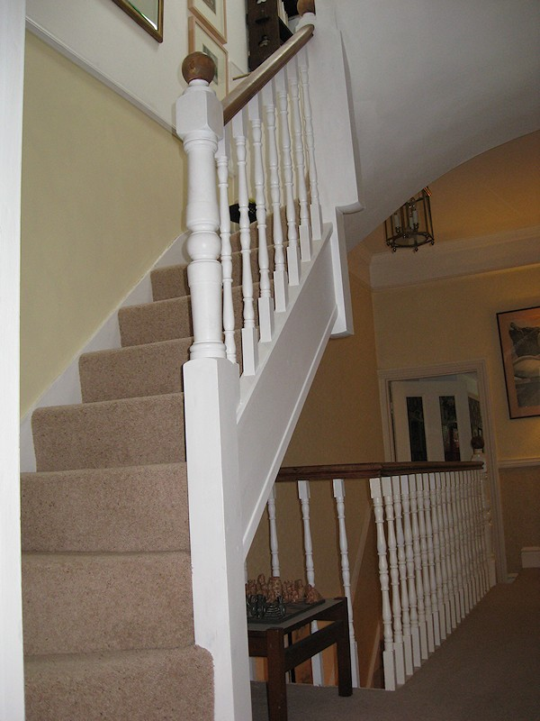 santer joinery staircase compton road attic asset. Black Bedroom Furniture Sets. Home Design Ideas
