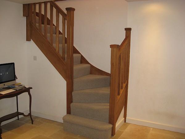 Santer Joinery Staircase South Warren Farm Aj Ross